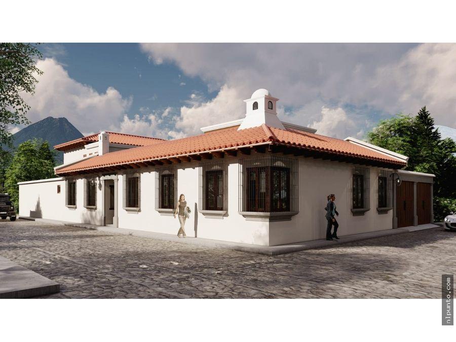 casa en venta a 5 minutos de antigua camino a ciudad vieja