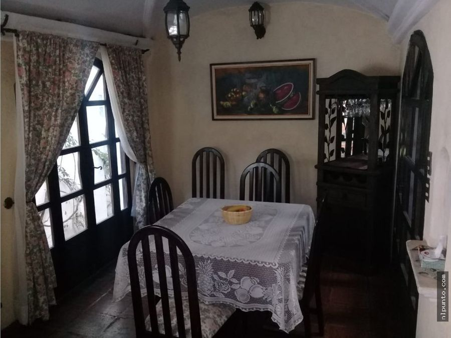 casita a la renta en condominio en antigua
