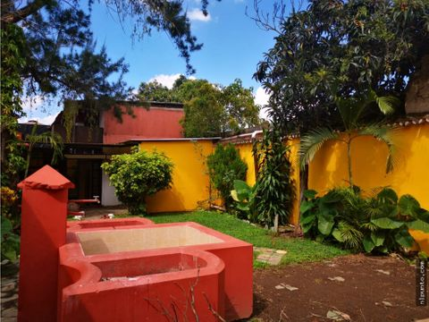 propiedad comercial en renta en antigua guatemala