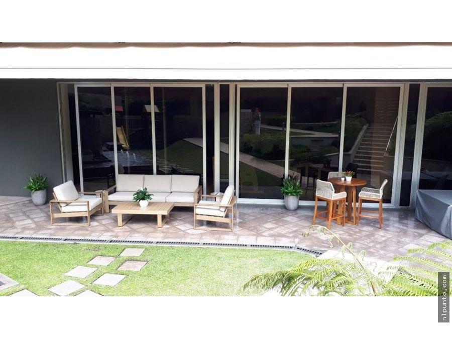 apartamento en renta en edificio tiffany zona 14 guatemala