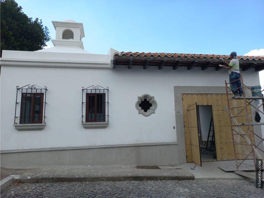 casa en venta en san miguel duenas dentro condominio