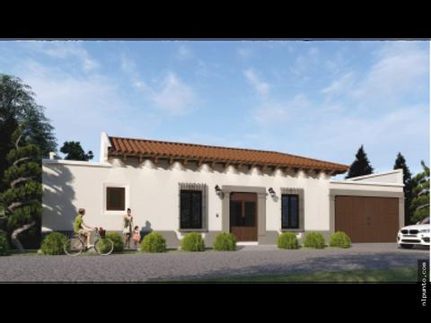venta de casa en construccion dentro de condominio