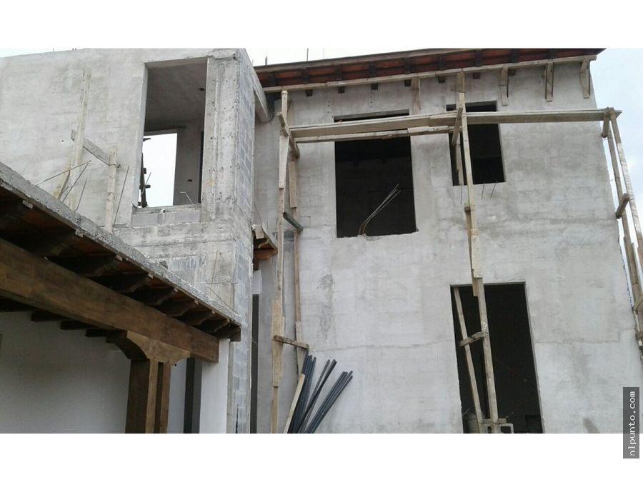 a la venta casa en construccion en condominio