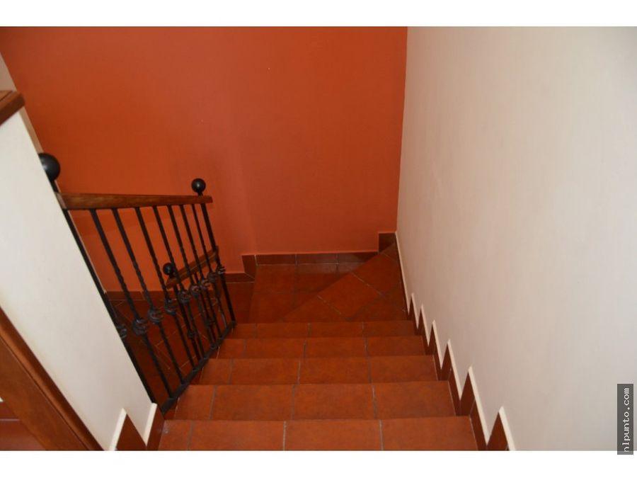 casa en venta o renta en condominio en antigua