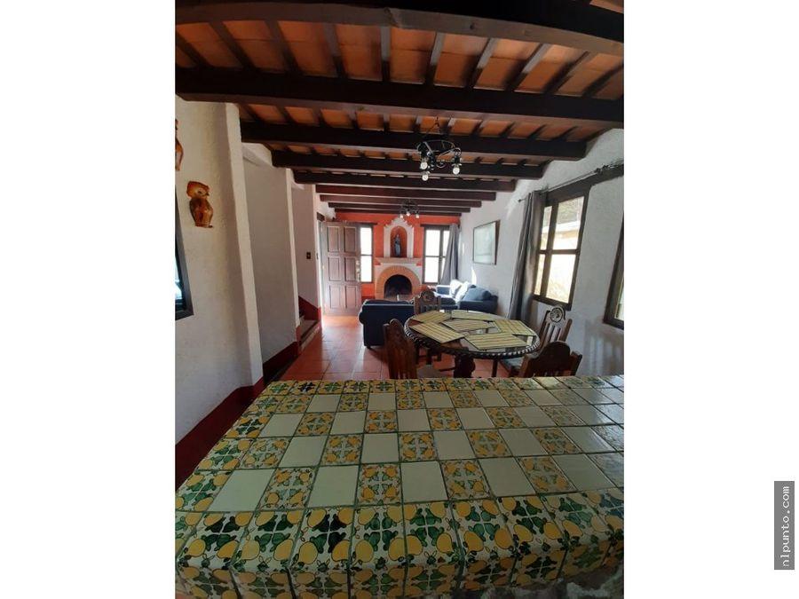 apartamento en renta centrico en antigua