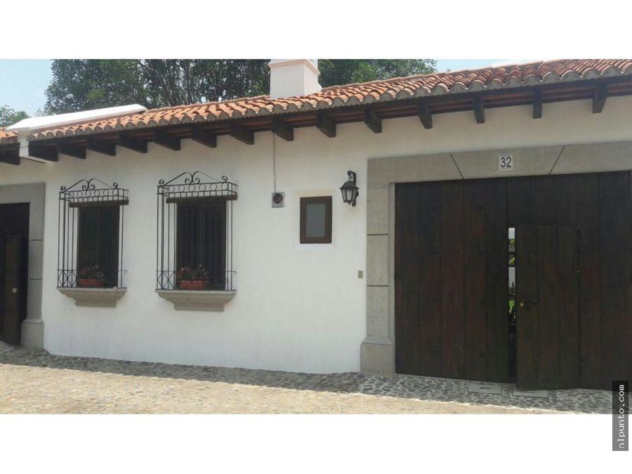 dos casas recien terminadas a la venta