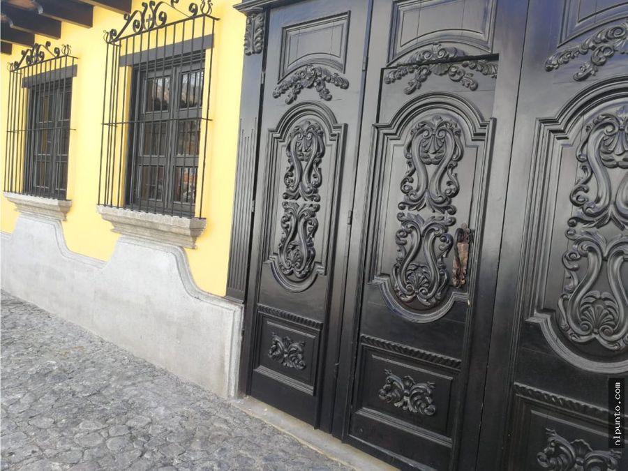 dos casas en renta en condominio en antigua