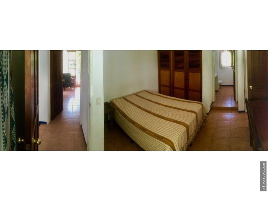 casa de 4 habitaciones en renta en antigua
