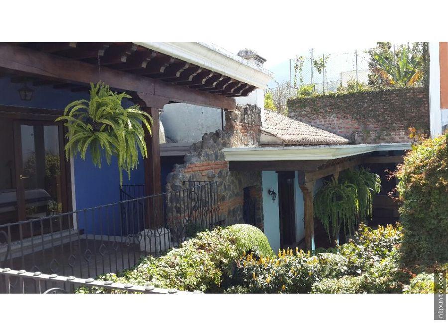 casa colonial en area de ciudad vieja
