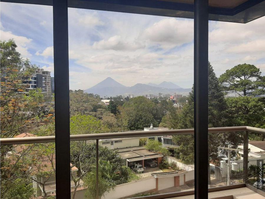 aptos en renta en edificio zona 15 guatemala
