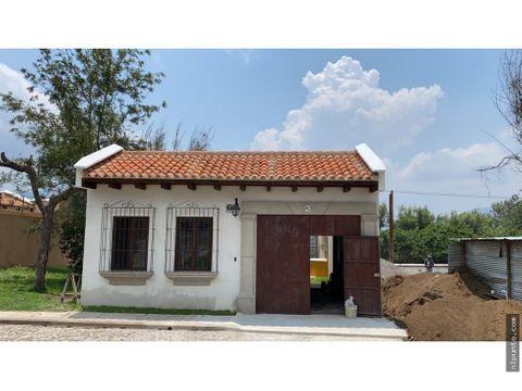 se vende casa en construccion dentro de condominio