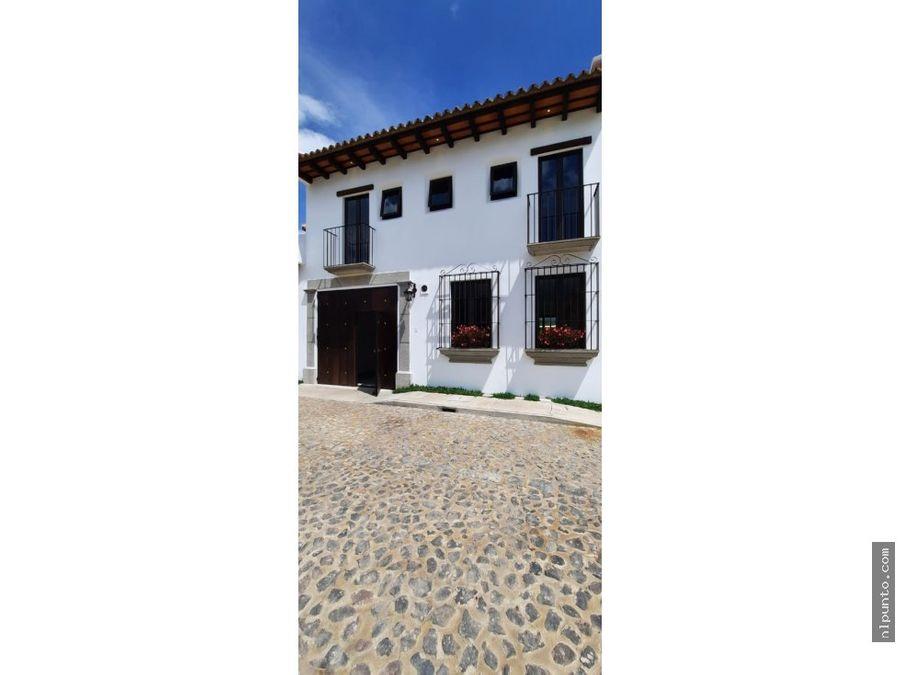 casas y terrenos en venta dentro de condominio rn14 ciudad vieja