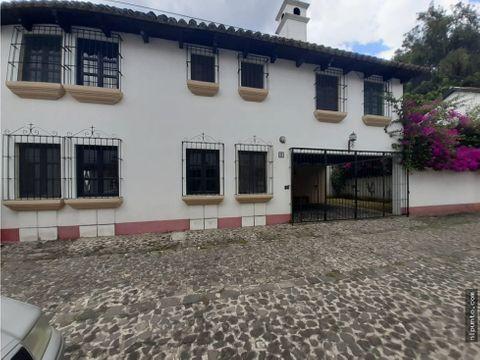 casa en venta o renta en condo al sur de antigua