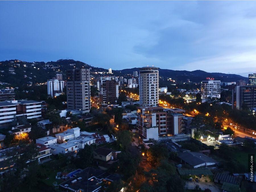 penthouse en venta en zona 15 ciudad guatemala