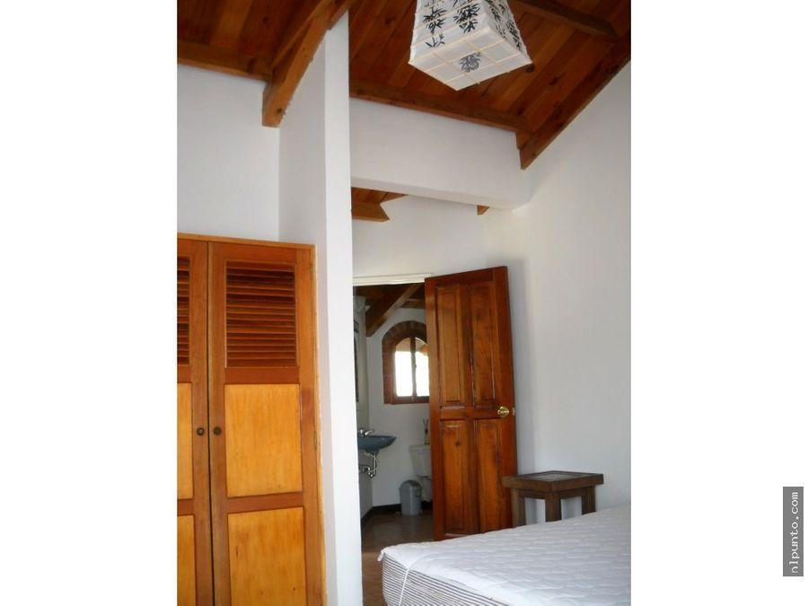 bonita casa en renta en santa ana antigua g