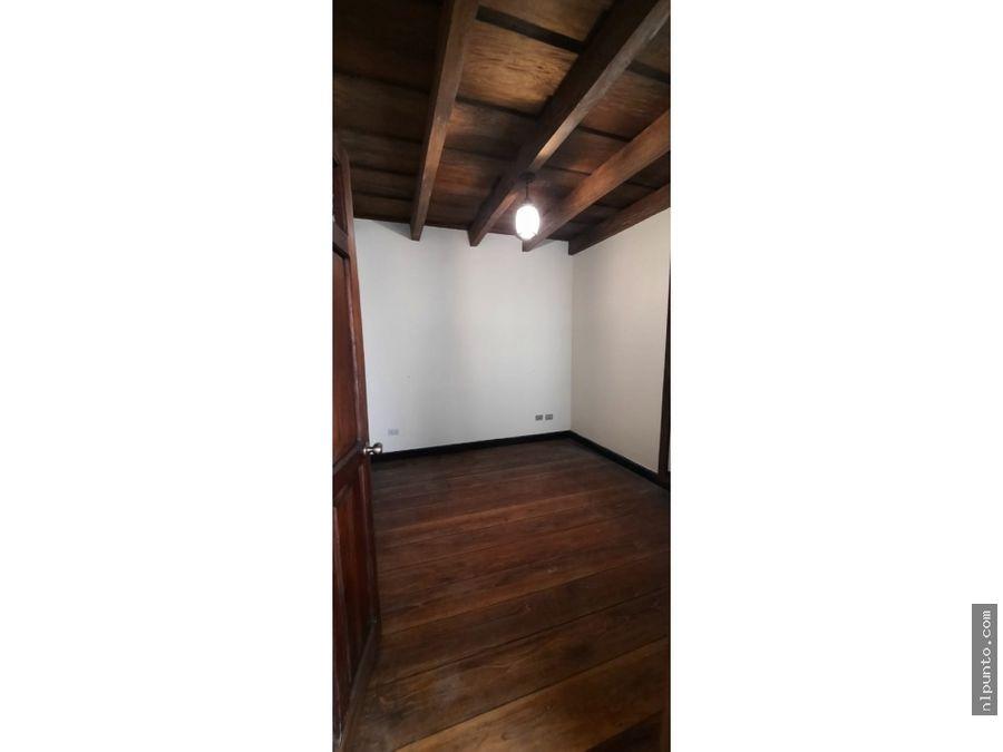 apartamento centrico en renta en antigua
