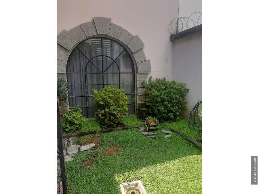 casa en venta en zona 14 guatemala