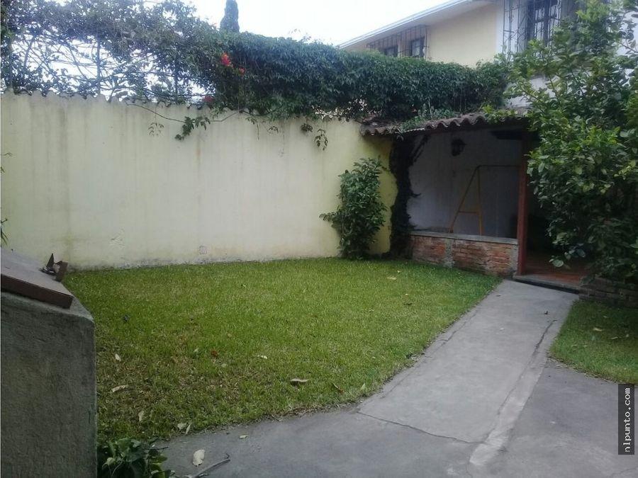 a la venta casa en jardines de antigua