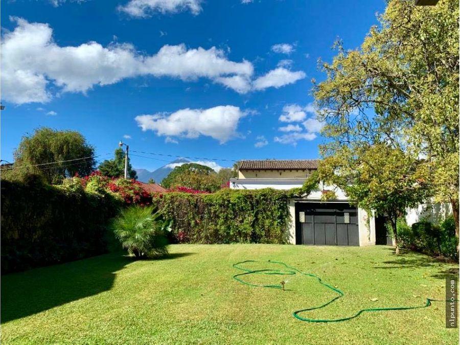 casa en venta en jardines de antigua