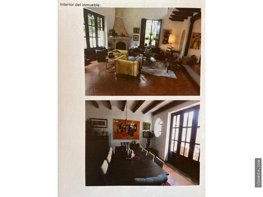 casa en venta en el calvario antigua g dentro de condominio