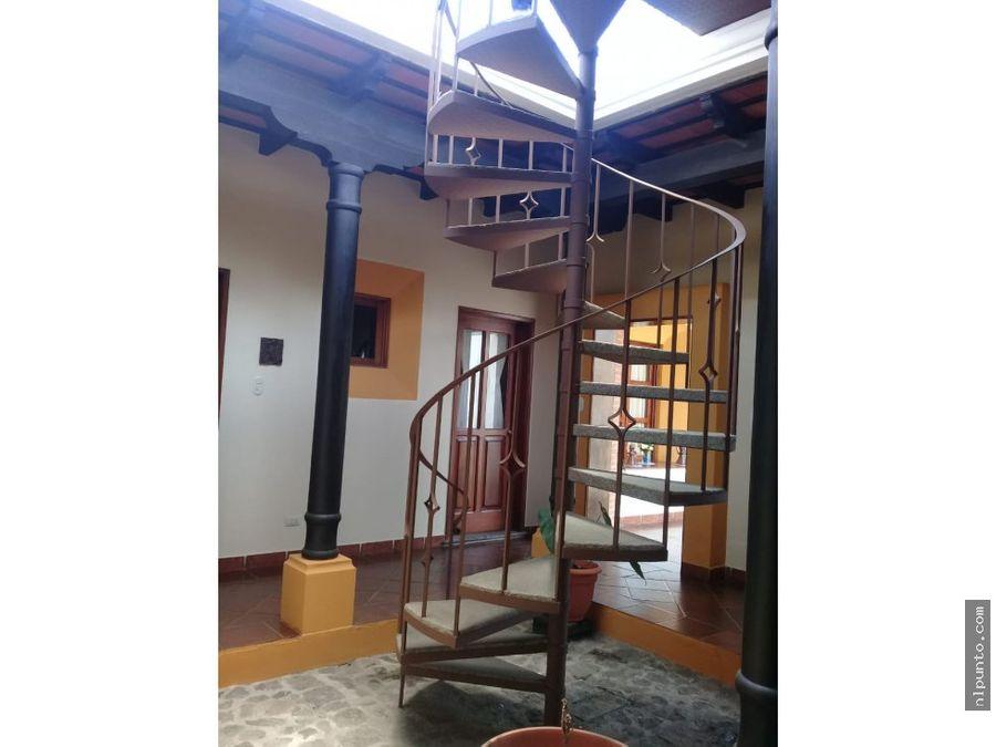 casa en venta dentro de condominio en antigua