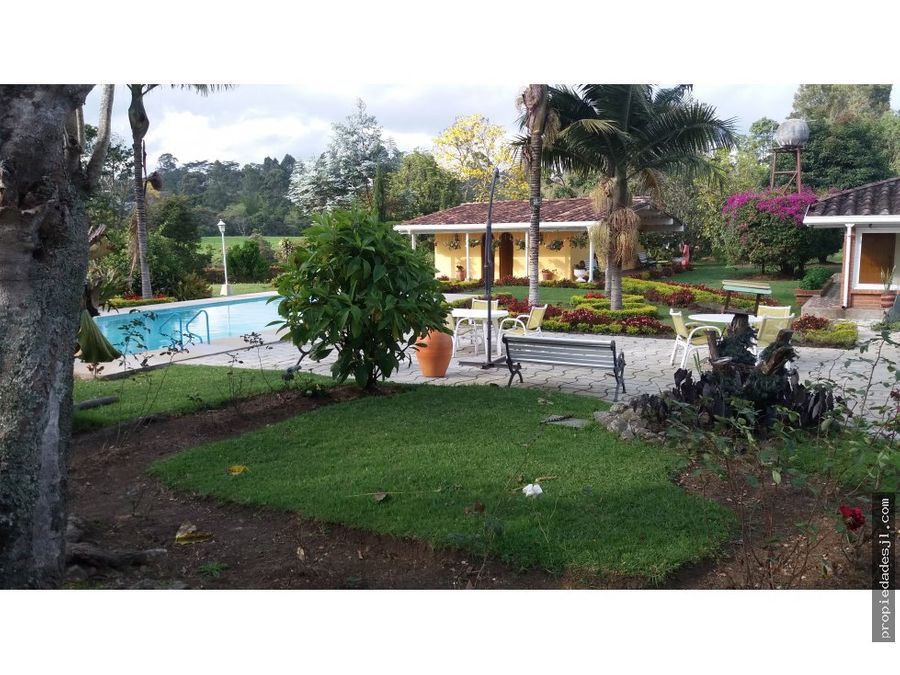 se vende finca en sector exclusivo rionegro