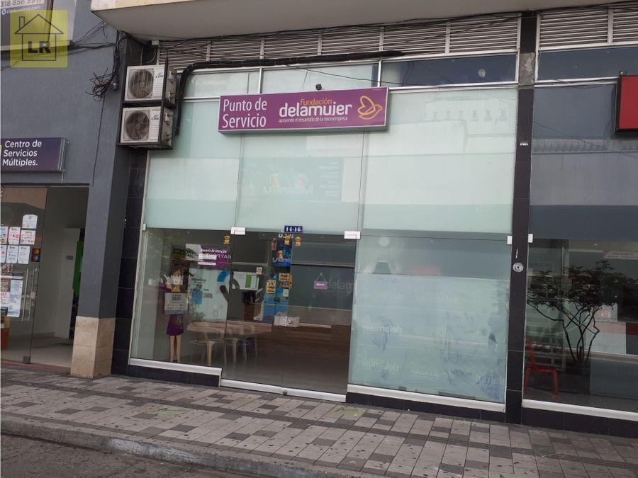 local cerca a la plaza de bolivar armenia q