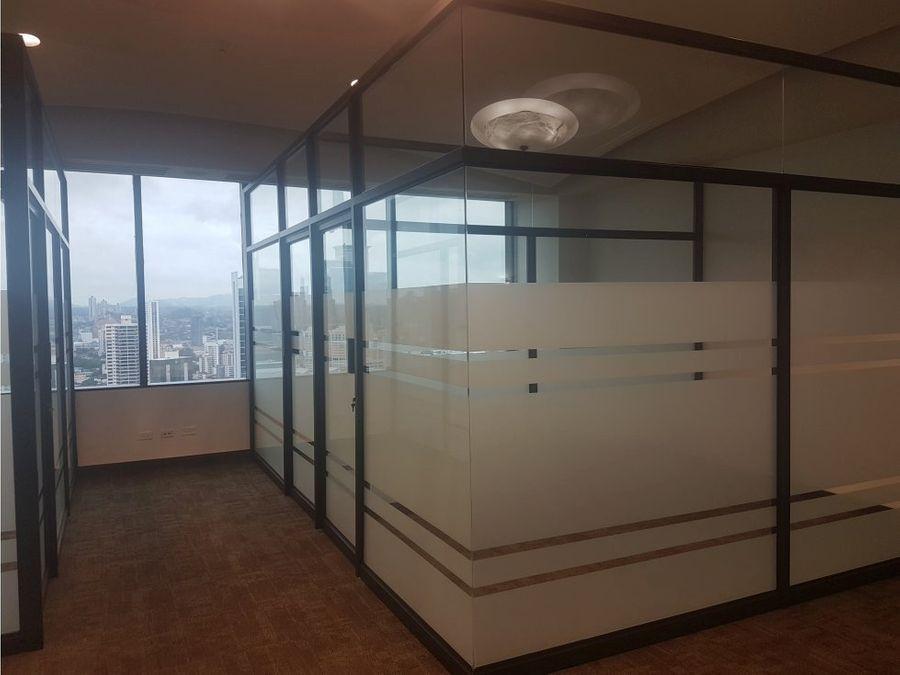 oficinas en calle 50 con servicios incluidos