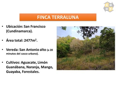 lote rural en san francisco cmarca
