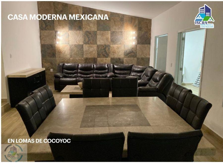 casa moderna mexicana