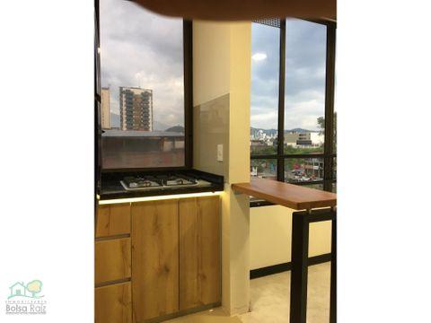 apartaestudio para venta en el centro completamente remodelado