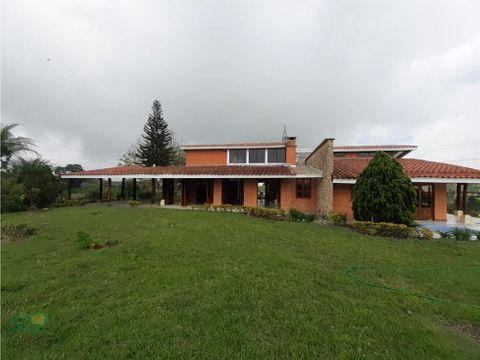 casa campestre para arriendo via armenia