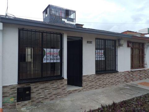 casa para arrendamiento en el poblado 2