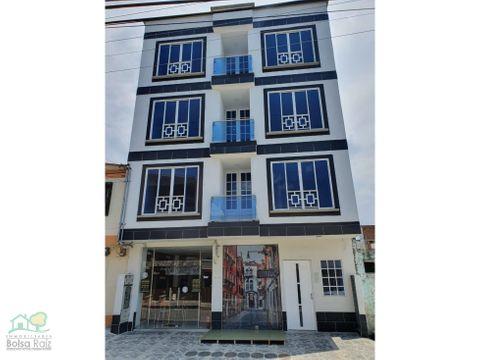 edificio de apartamentos y locales en venta