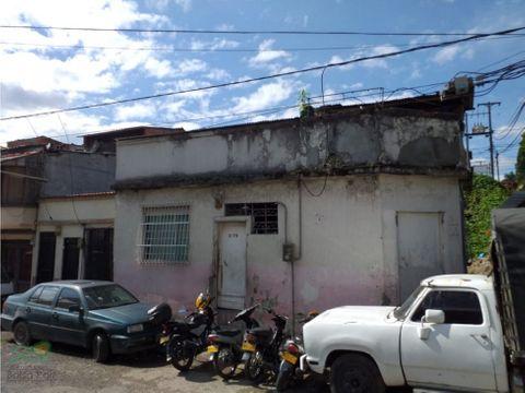 casa lote para venta en el centro de pereira