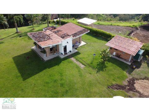 casa campestre para venta en la via armenia condominio cerrado