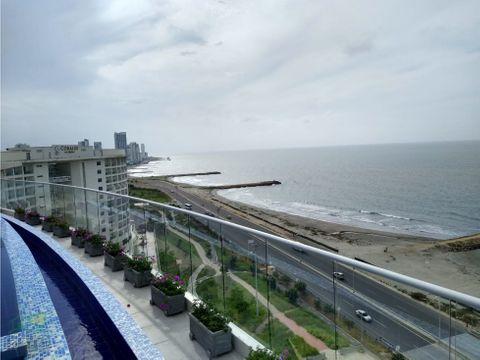 apartamento para venta en cartagena frente al mar