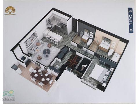 apartamento para venta en la avenida sur nuevo
