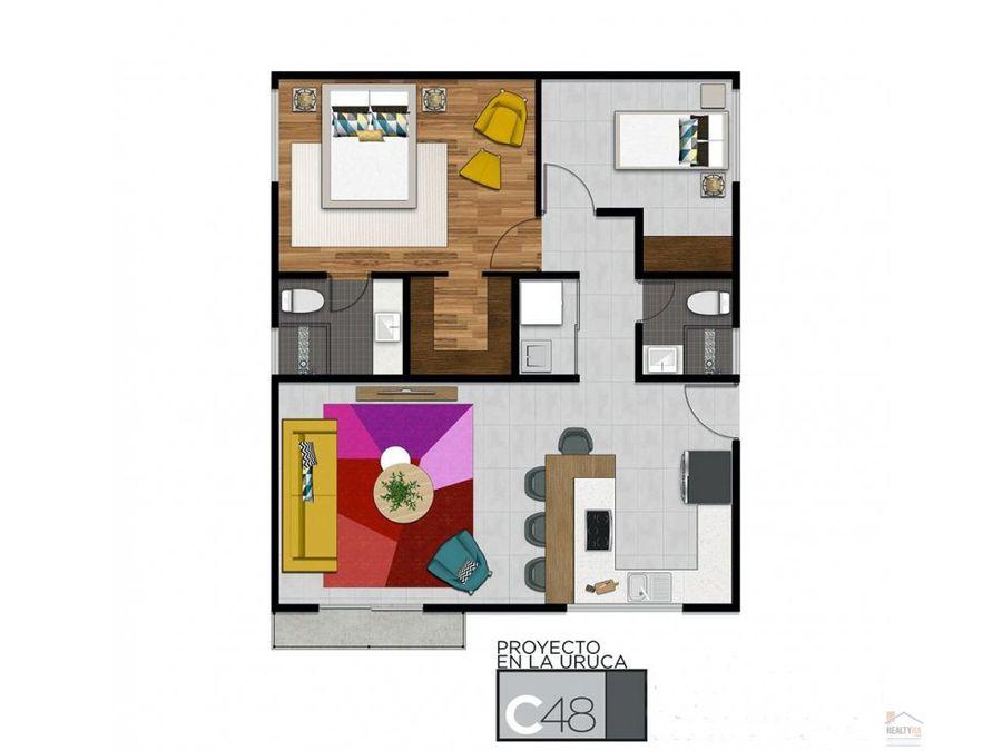 apartamentos en condominio la uruca lpe