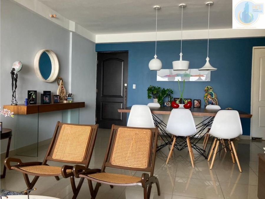 venta de hermoso apartamento decorado en san francisco
