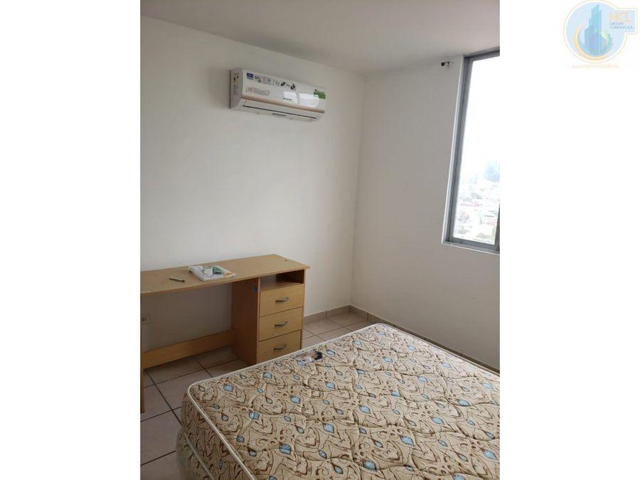 alquiler apartamento semi amoblado plaza valencia