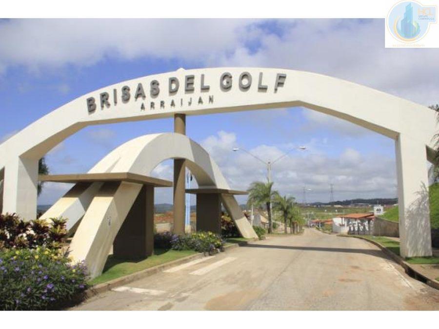 venta de casa en brisas del golf arraijan