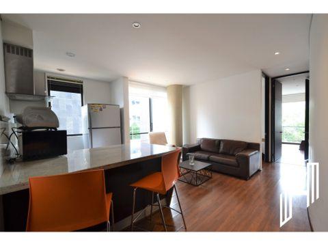 apartamento amoblado con balcon en virrey