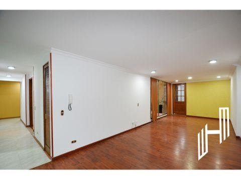apartamento con terraza en chapinero alto