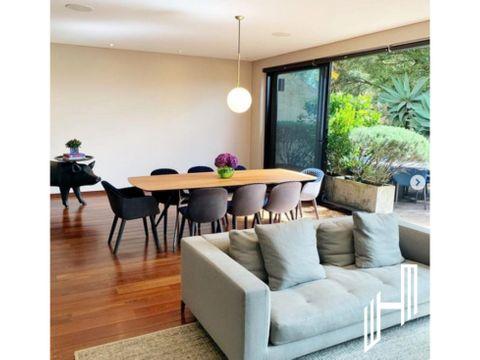 venta apartamento con dos terrazas en chico alto