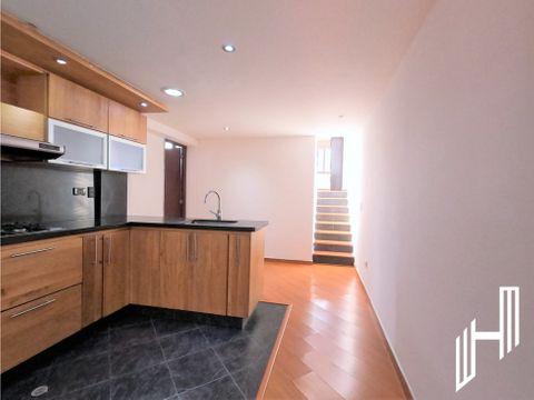 apartamento para arriendo con terraza en santa barbara central