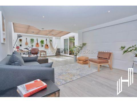 en venta apartamento con terraza en san patricio