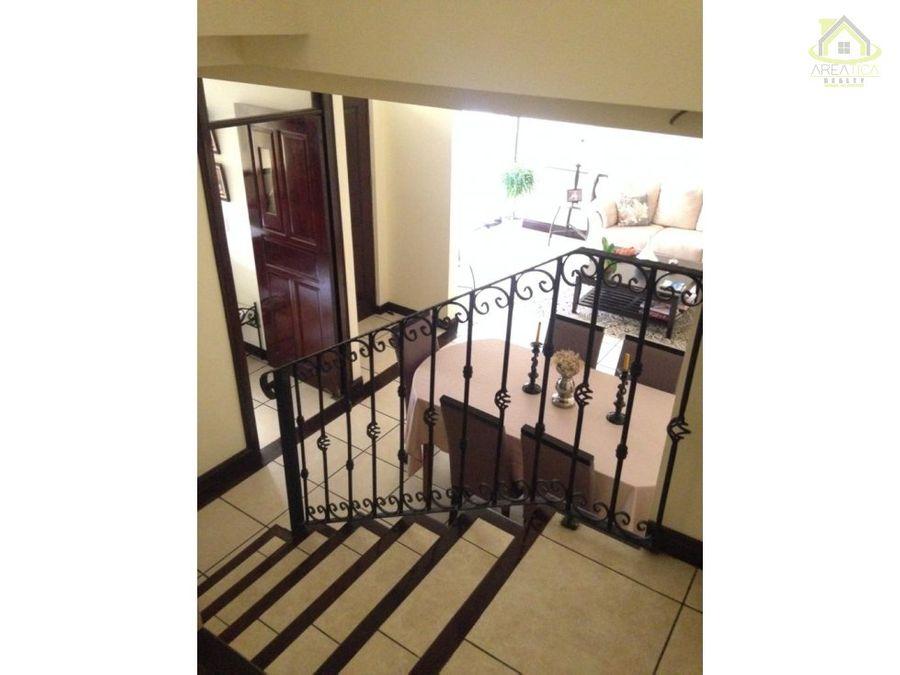 venta hermosa casa en condominio belen heredia