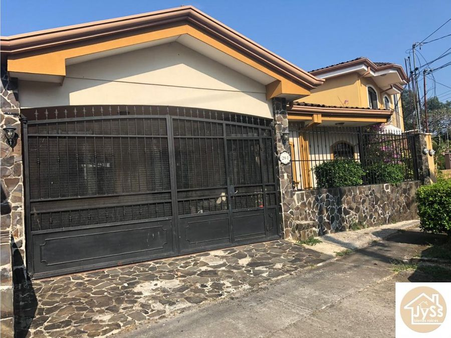 venta hermosa casa en san joaquin