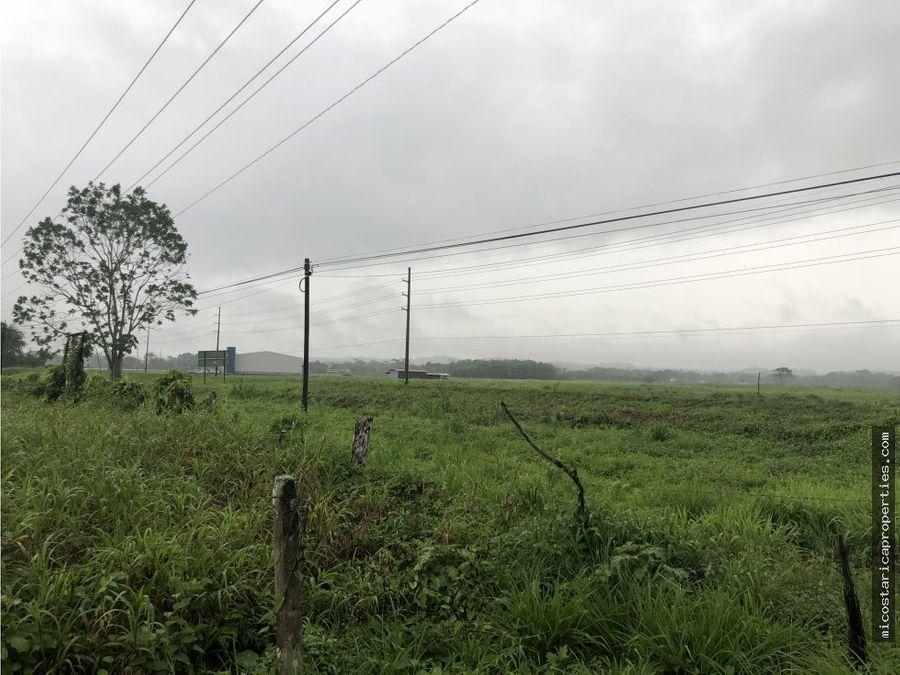 terreno en muelle de san carlos